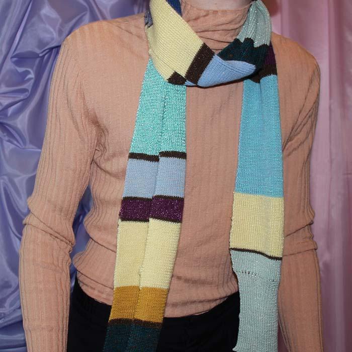 dunne sjaal lichaam